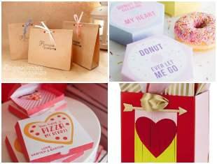 Embalagens para Presente de Dia dos Namorados