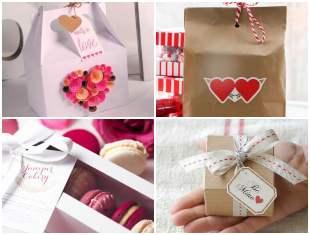 Embrulho de Papel para Dia dos Namorados