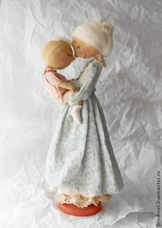 Mãe e Filha em Tecido