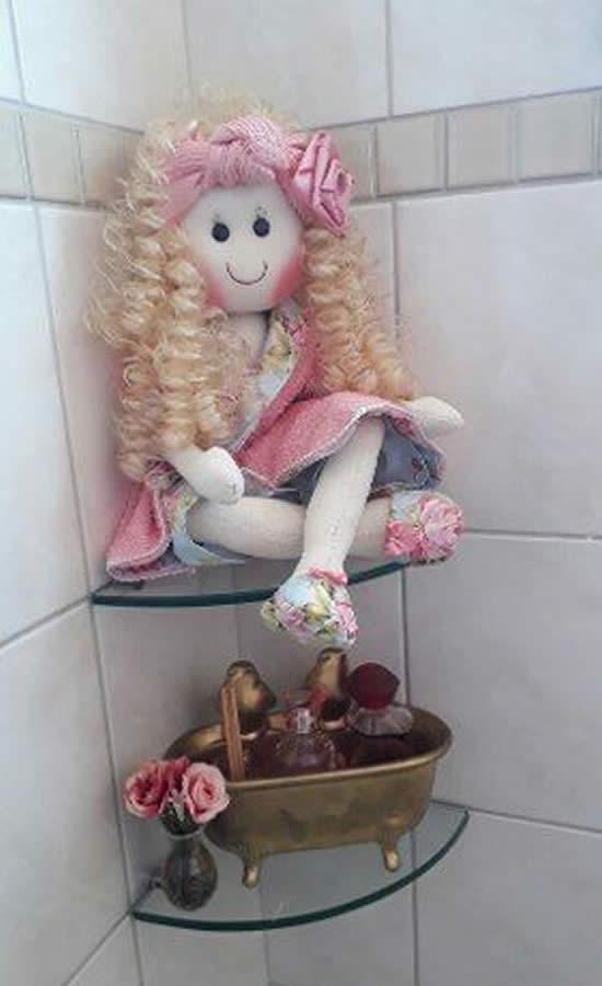 Bonequinhas para Banheiro