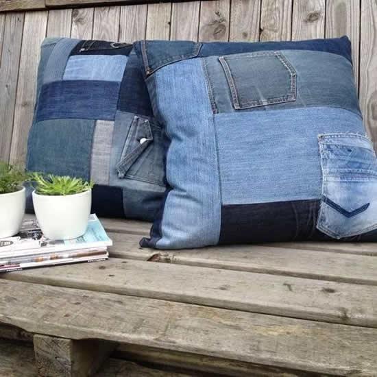 Artesanatos Criativos com Calça Jeans