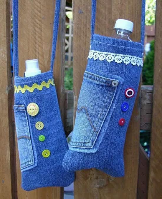 Ideias Lindas com Calça Jeans Velha