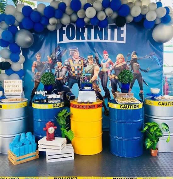 Ideias criativas para Festa Fortnite