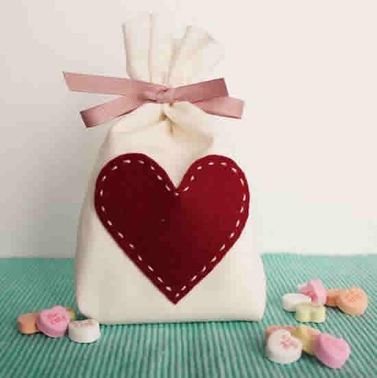 Mimos em Feltro para Dia dos Namorados