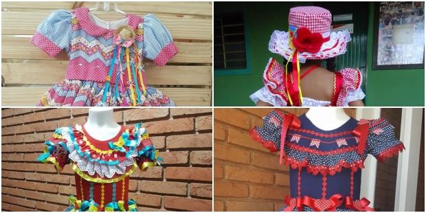 Vestidos Juninos Infantil: 20 inspirações