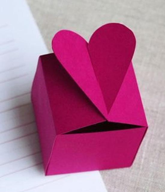 Lindas lembrancinhas de papel com moldes