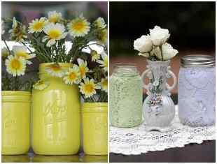 Ideias para reciclar potes de vidro