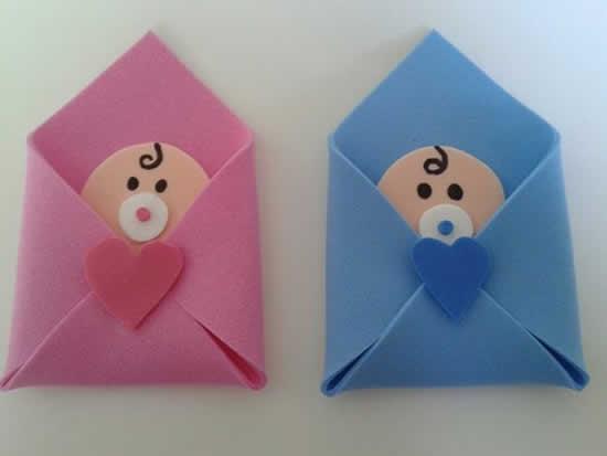 Lembrancinha de EVA: Chá de Bebê