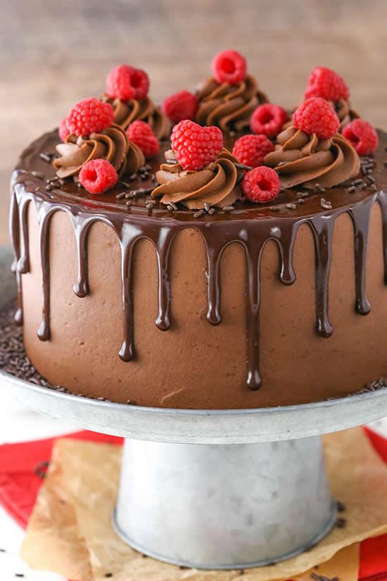Ideias para bolos de chocolate