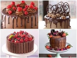 15 Inspirações para Bolos de Chocolate