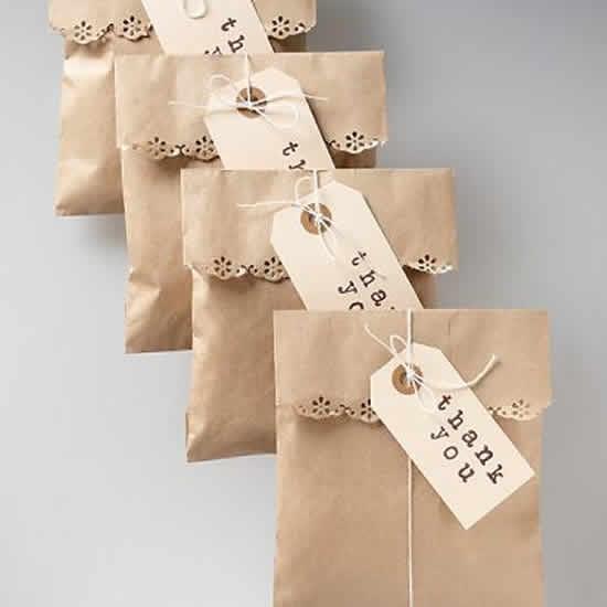 Lindas sacolinhas de papel