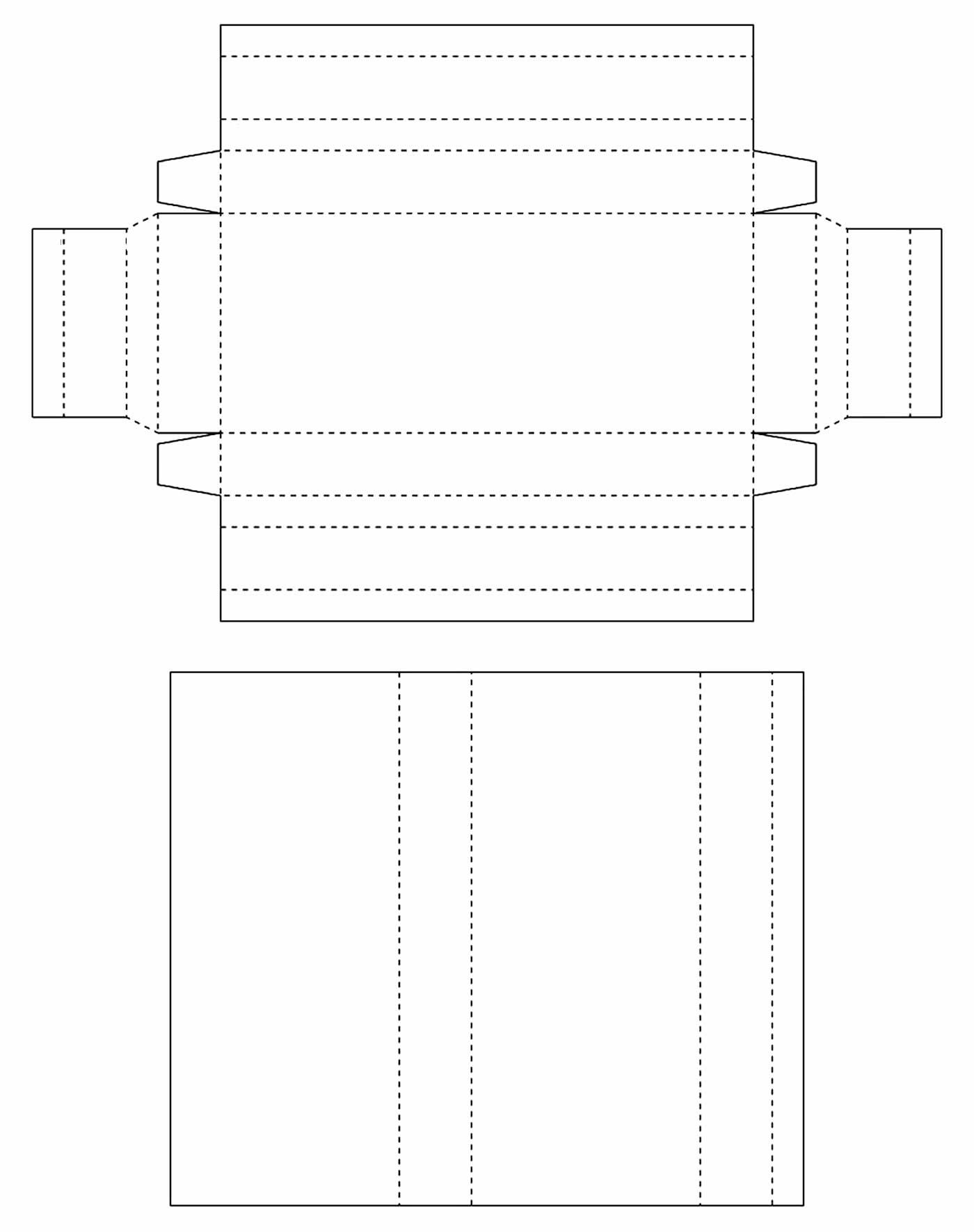 Molde de caixinha de bombons