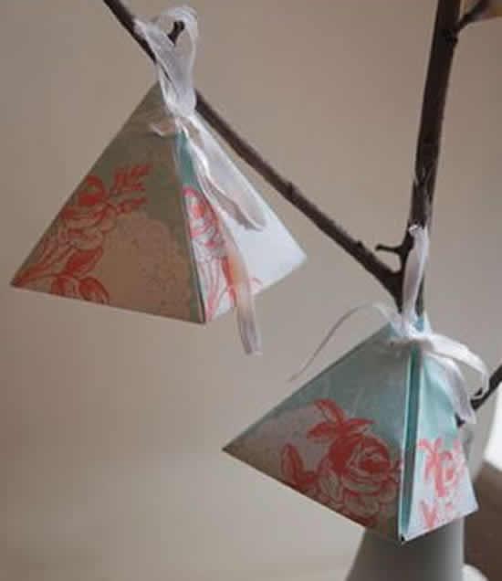 Lindas caixinhas de papel