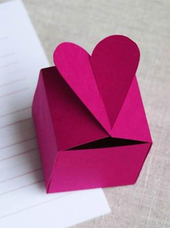 Molde grátis para caixinha de papel