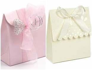 Sacolinha de papel com molde