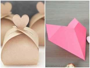 Caixinha coração simples e fácil de fazer