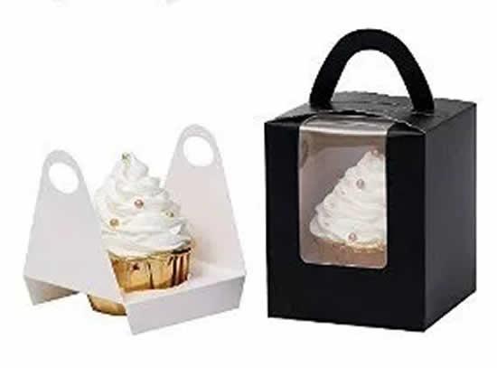 Caixinha para cupcake com moldes