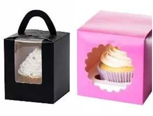 Caixinha de papel para cupcake