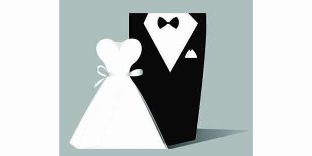 Lembrancinhas com moldes para casamento