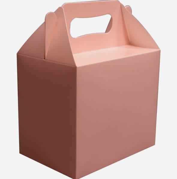 Linda sacola de papel para lembrancinha com molde
