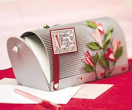 Caixinha de correios com moldes