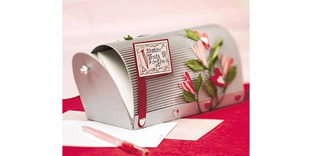 Como fazer caixinha de correios com moldes