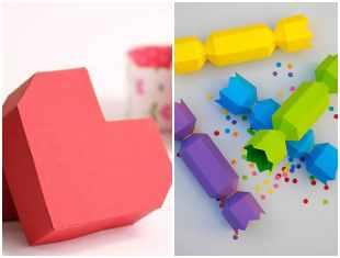 Caixinhas para Dia das Crianças