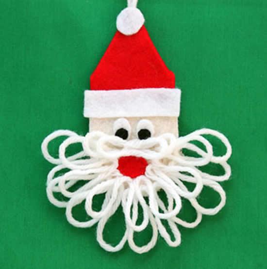 Mimo em feltro - Papai Noel