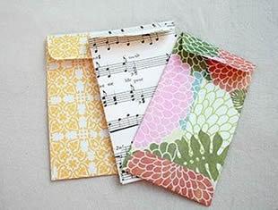 Molde para envelope de papel para cartão