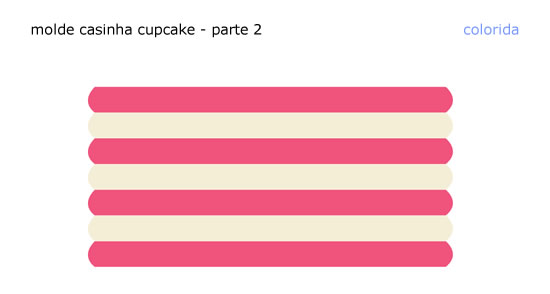 Moldes lindos para caixinha cupcake