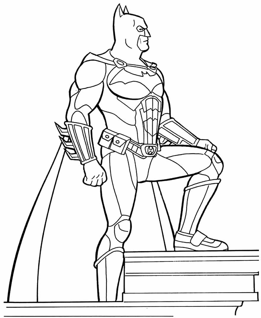 Imagem de Batman para pintar