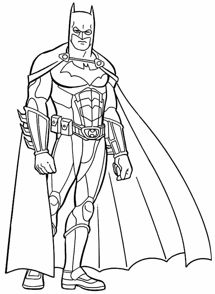 Imagem de Batman para colorir