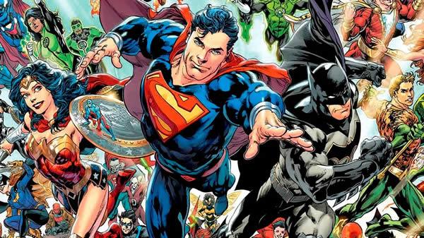 Desenho para colorir de Super-heróis