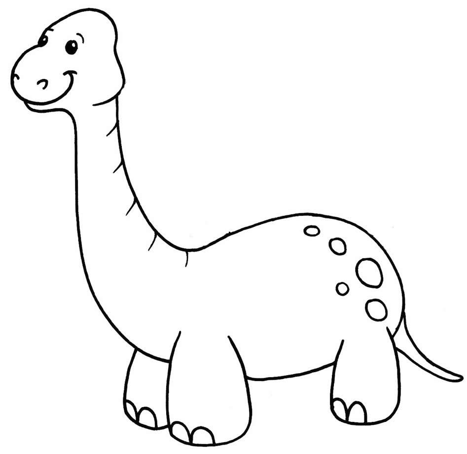 Molde de Dinossauro para imprimir