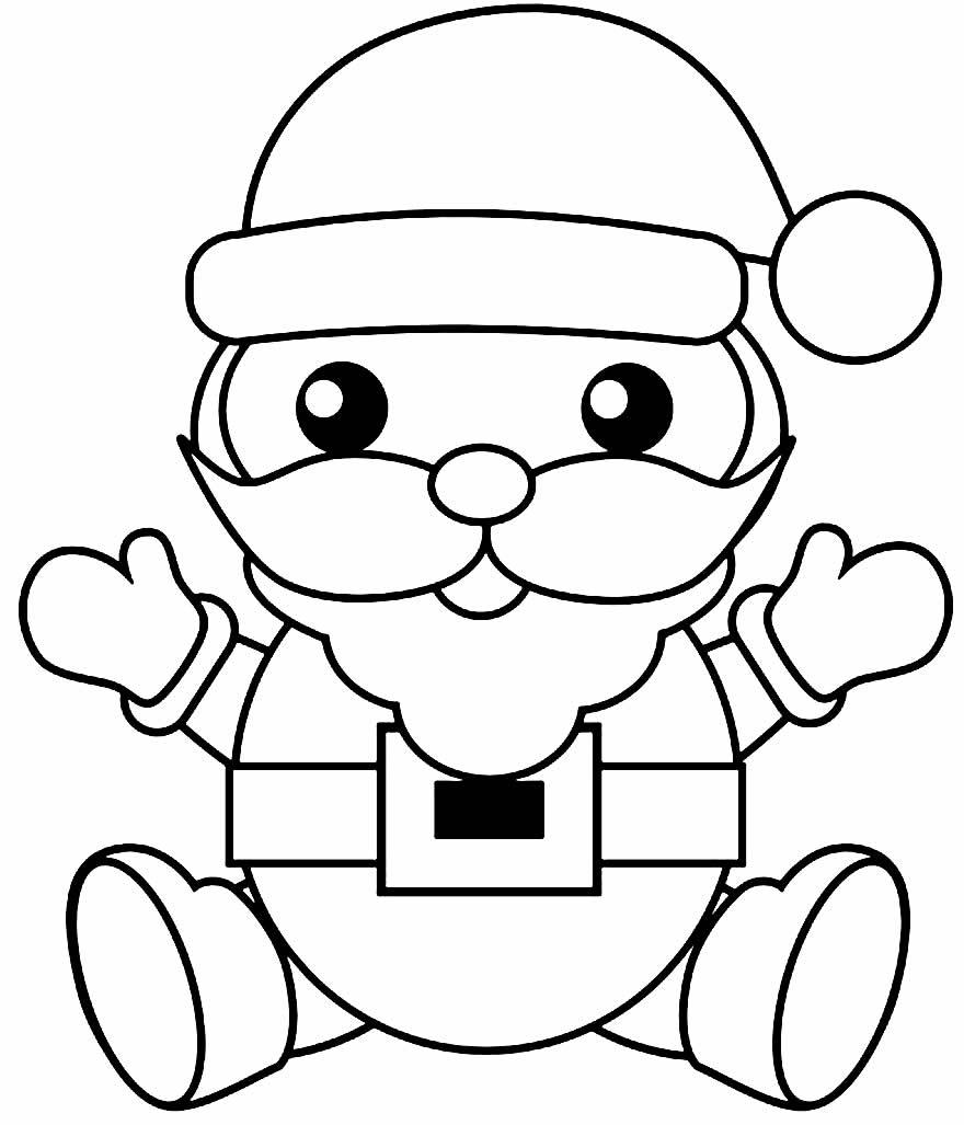 Desenho de Natal para colorir