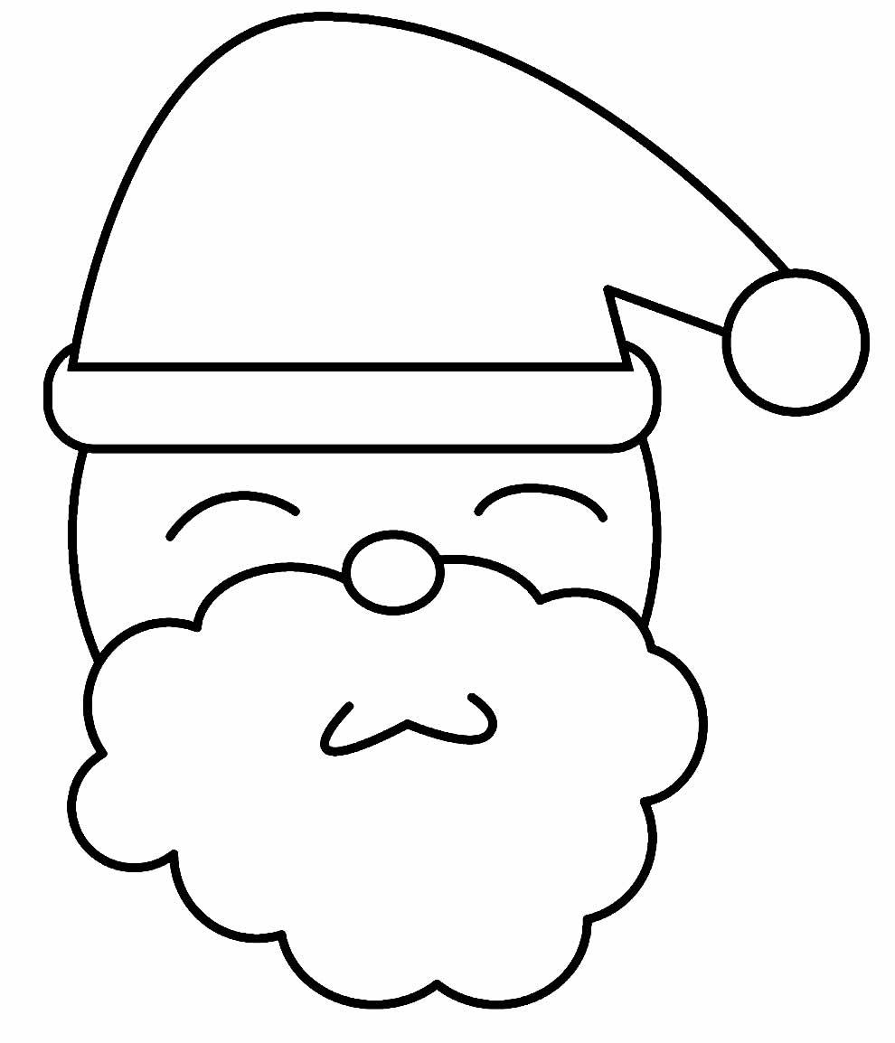 Molde de Natal para pintar