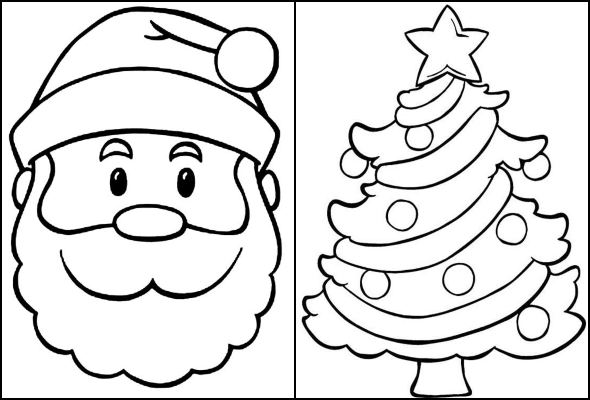 20 Moldes De Natal Para Colorir Pop Lembrancinhas