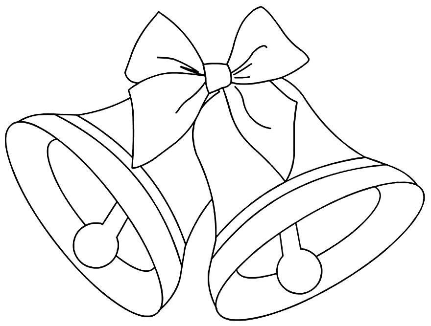 Imagem de Sinos de Natal para colorir