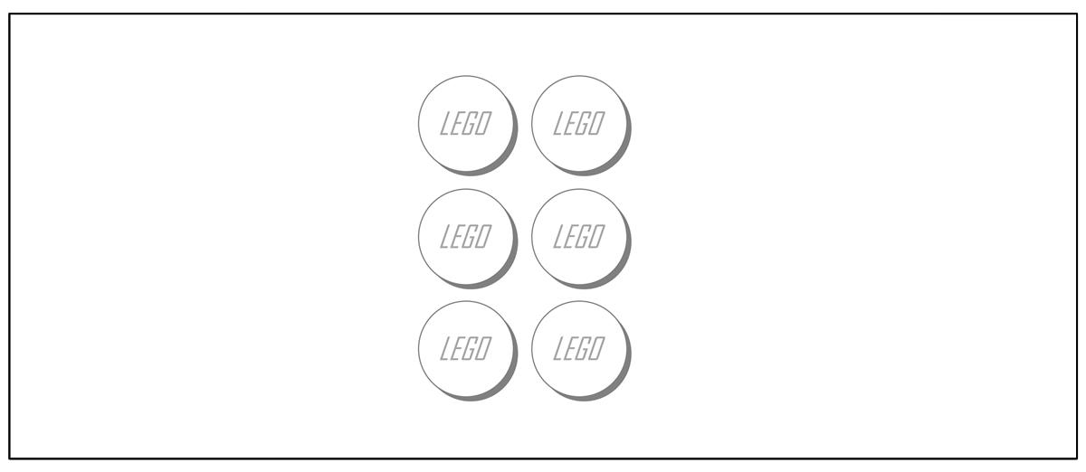 Molde para Lembrancinha Lego