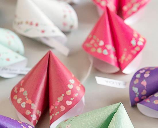 Lembrancinhas lindas de papel com moldes