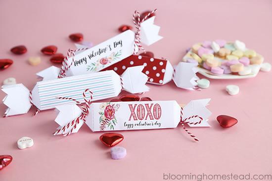 Linda caixinha com molde para Dia dos Namorados