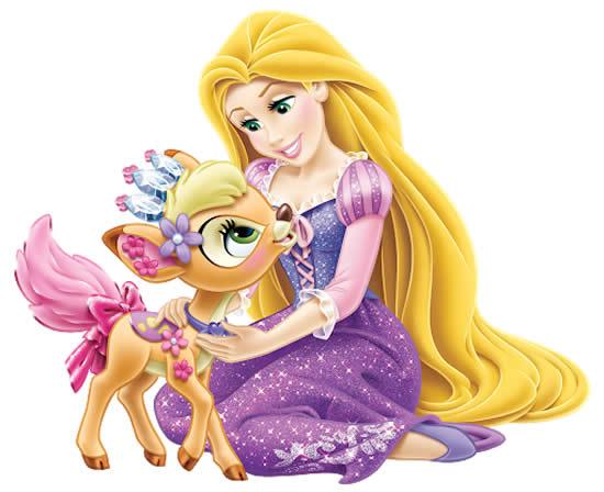 Desenho de Rapunzel