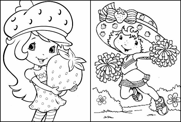 Desenhos Da Moranguinho Para Colorir Pop Lembrancinhas