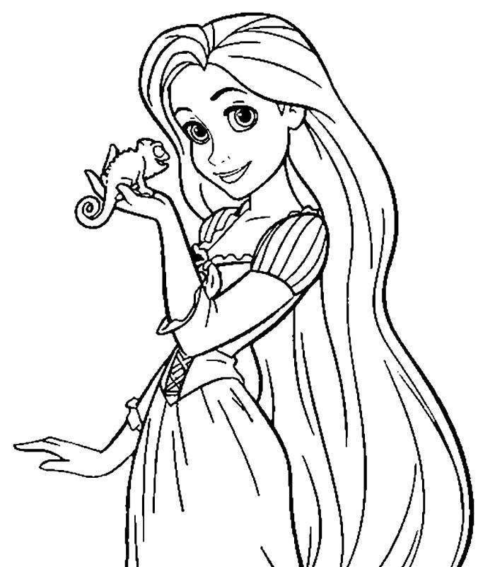Desenhos Da Rapunzel Para Colorir Pop Lembrancinhas
