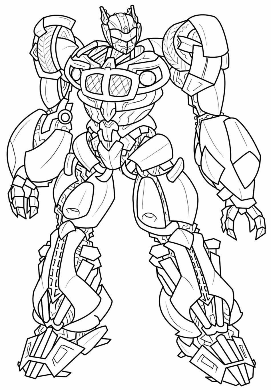 Desenho de Bumblebee para colorir