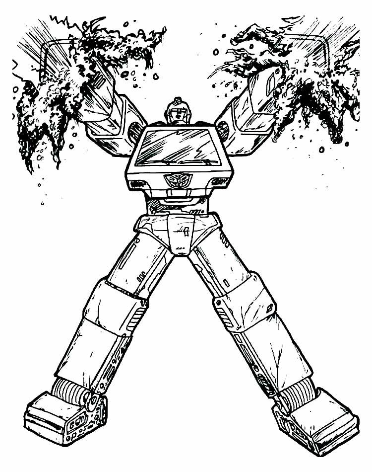 Moldes de Transformers para pintar