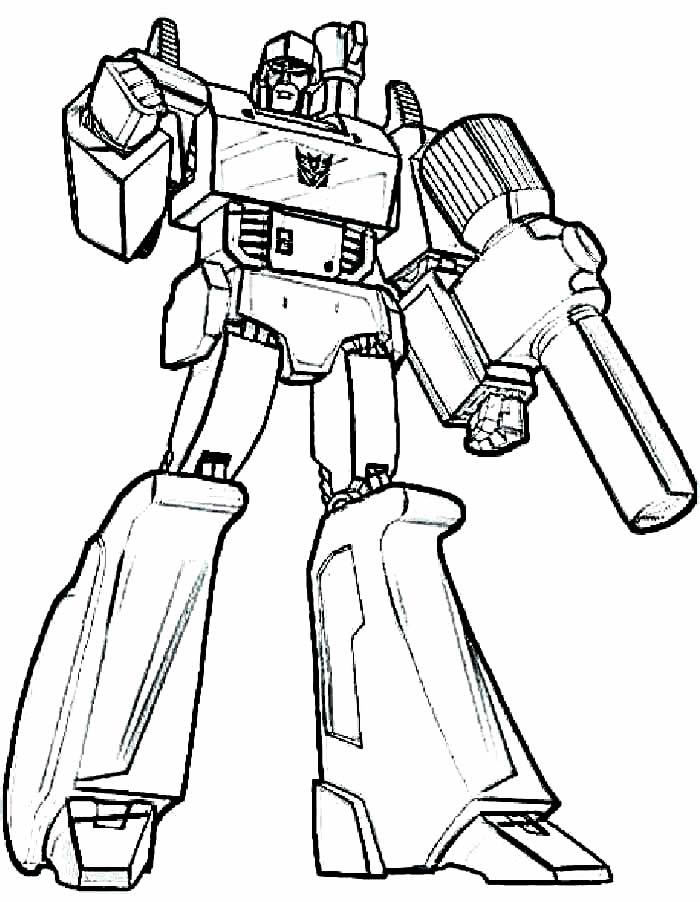 Lindos moldes de Transformers para colorir