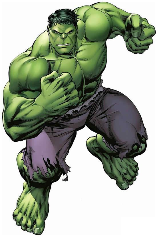 Desenho Lindo do Hulk