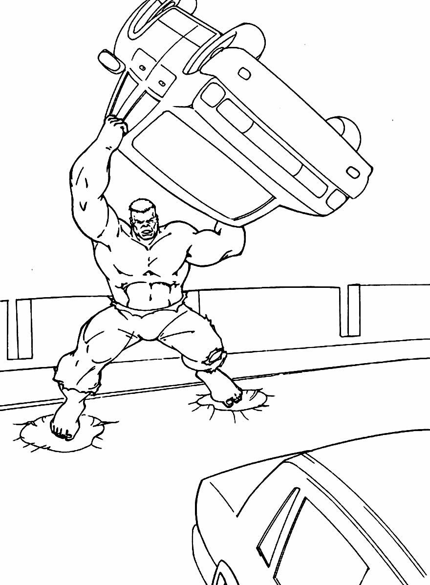 Modelo do Hulk para pintar