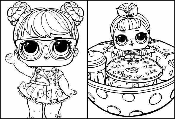 Desenhos Da Boneca Lol Para Colorir Pop Lembrancinhas